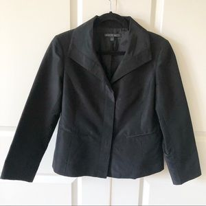Lafayette 148 New York Cotton Silk Blend Blazer